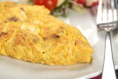 Omelet breakfast Stock Images