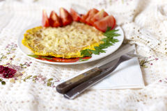 Omelet Royalty Free Stock Photography