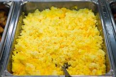 Omelet in een voedselopslag Royalty-vrije Stock Foto