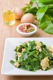 Omelet met groente Stock Afbeeldingen
