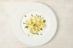 omelet Prato delicioso para a vida saudável fotos de stock royalty free