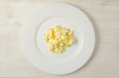 omelet Prato delicioso para a vida saudável foto de stock royalty free