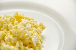 omelet Prato delicioso para a vida saudável fotografia de stock royalty free