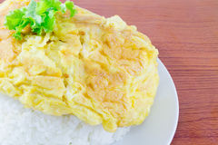 Omelet rice Royalty Free Stock Photos