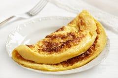 Omeleta fotografia de stock