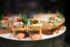 Omeleta Barca Fotos de Stock