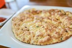 Omeleta com alguns vegetais Fotografia de Stock
