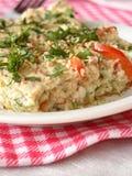 Omeleta com vegetais Imagens de Stock