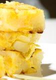Omeleta espanhola imagem de stock