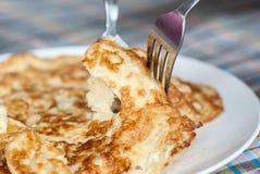 Omeleta lisa foto de stock