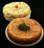 omelete ισπανικά tapas πρόχειρων φαγη&t Στοκ Εικόνα