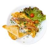 omelett Royaltyfri Foto