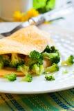 Omelett Fotografering för Bildbyråer