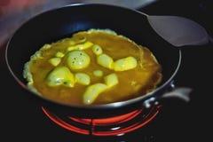 Omelett Lizenzfreies Stockfoto