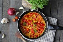 Omelett Royaltyfri Fotografi