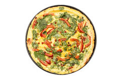 Omelett Stockfoto