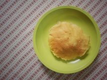 Omelett och ris Royaltyfria Foton