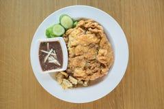 Omelett på ris Fotografering för Bildbyråer
