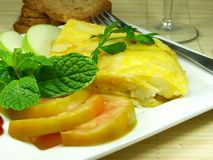 Omelette Royalty Free Stock Photo