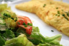 Omelette Stock Photography