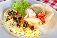 Omelette Obrazy Stock