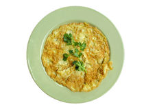Omelette Fotografie Stock Libere da Diritti