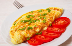 Omelette Photographie stock