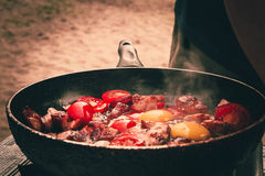 Omelette Fotografie Stock