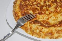 Omelette zdjęcie royalty free