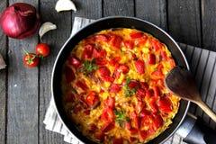 Omelette Immagine Stock Libera da Diritti