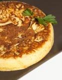 omelette cebula fotografia stock