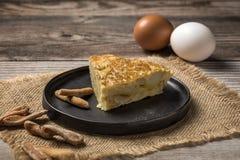 Omelette délicieuse de pomme de terre Images stock