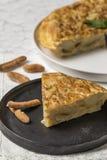 Omelette délicieuse de pomme de terre Photo libre de droits