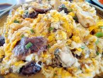 Omelette d'huître Photo libre de droits