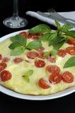 Omelette de Caprese Image libre de droits