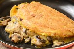 Omelette de champignon Photo libre de droits