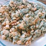Omelette de maritima de Suaeda photographie stock