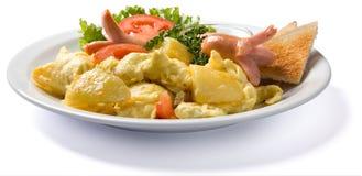 Omelette de pays Image libre de droits