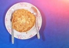 Omelette de riz Images libres de droits