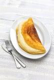 Omelette de style de Michel de saint de Mont Photo libre de droits