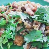 Omelette del gamberetto fotografia stock libera da diritti