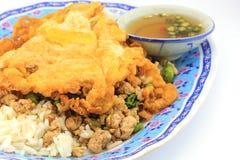 Omelette del MOO di Kapao Fotografia Stock