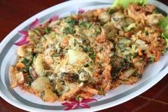 Omelette dell'ostrica del bambino Fotografia Stock