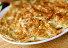 Omelette dell'uovo Fotografia Stock