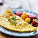 Omelette della prima colazione Fotografia Stock Libera da Diritti