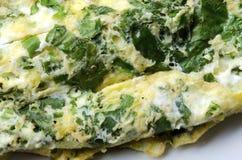 Omelette della verdura Fotografia Stock
