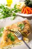 Omelette delle verdure Fotografia Stock Libera da Diritti
