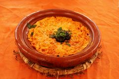 Omelette di berbero fotografia stock libera da diritti