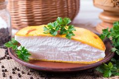 Omelette di Llush in francese immagini stock libere da diritti