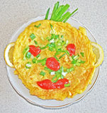 Omelette drôle Photos libres de droits